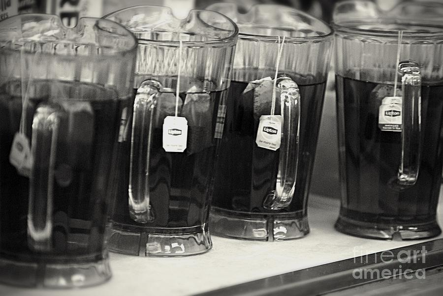 Iced Tea In Pitchers Photograph