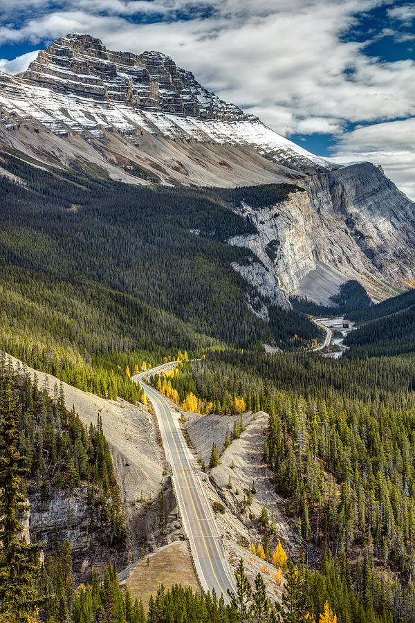 Travel Photograph - Icefield Parkway Scenic Drive by Pierre Leclerc Photography