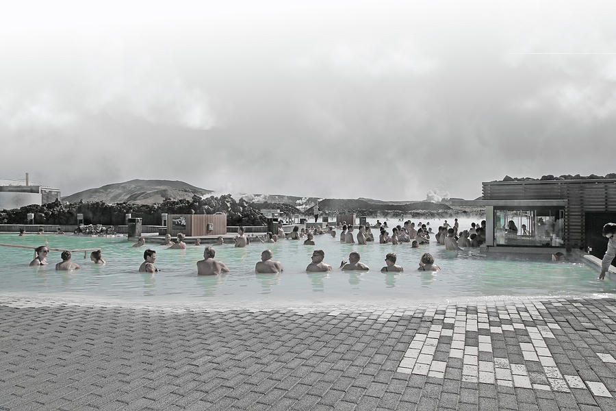 Iceland Photograph - Iceland Blue Lagoon Geothermic Seawater by Betsy Knapp