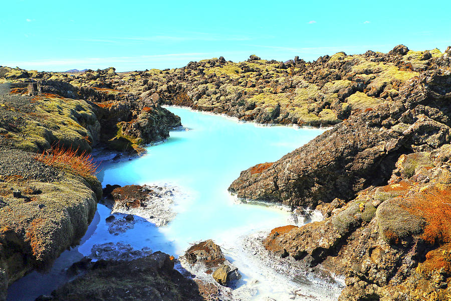 Iceland Blue Lagoon Healing Waters Photograph