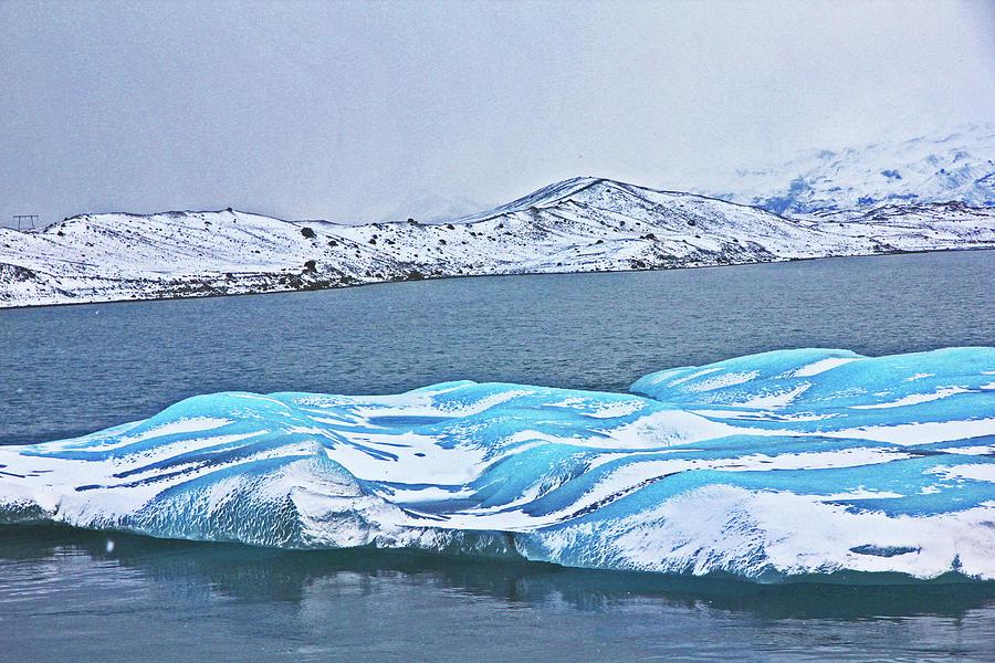 Iceland Glacier Bay Glacier Mountains Sea Sky Clouds Iceland 2 322018 1797.jpg Photograph by David Frederick