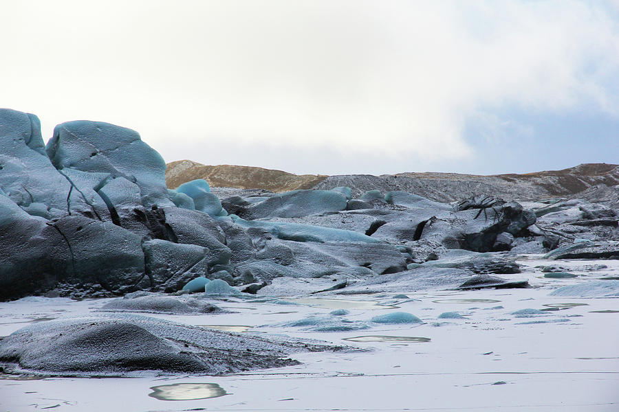 Iceland Glacier Mountains Sky Clouds Iceland 2 2142018 1742.jpg Photograph by David Frederick
