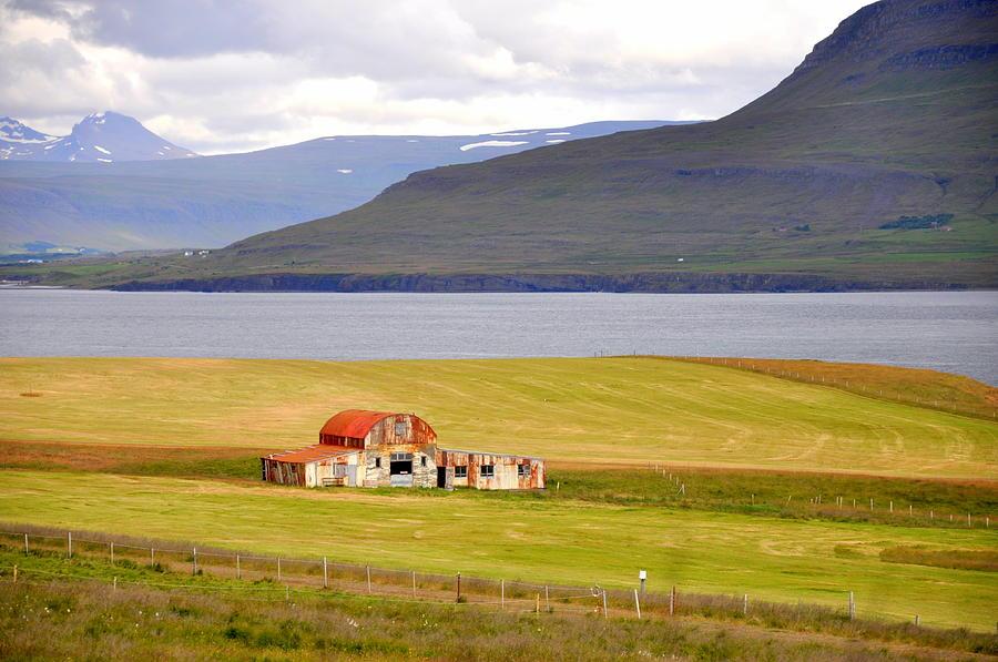 Landscape Photograph - Iceland Landscape by Ambika Jhunjhunwala