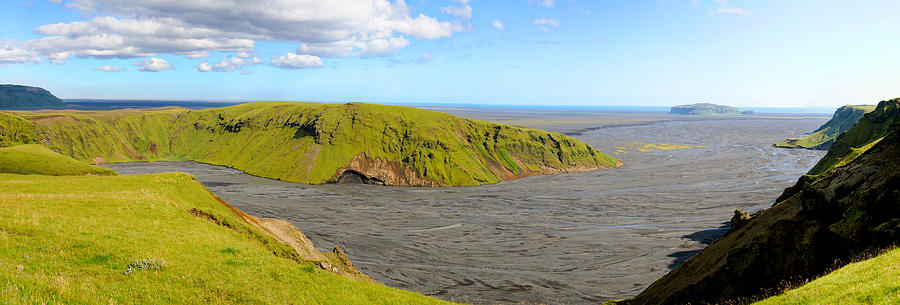 Arctic Photograph - Iceland Landscape Near Vik by Sergio Boccardo