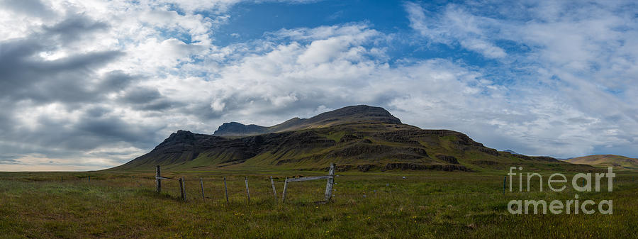 Iceland Landscape Panorama Photograph