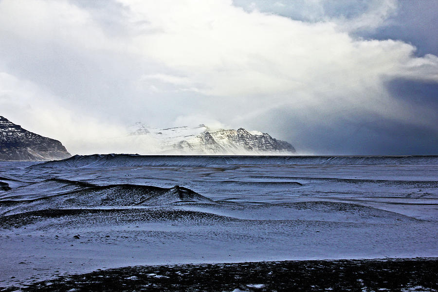 Iceland Lava Field Mountains Clouds Iceland Lava Field Mountains Clouds Iceland 2 282018 1837.jpg Photograph by David Frederick