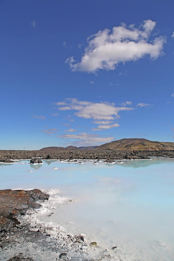 Iceland Photograph - Iceland Popular Blue Lagoon  by Betsy Knapp
