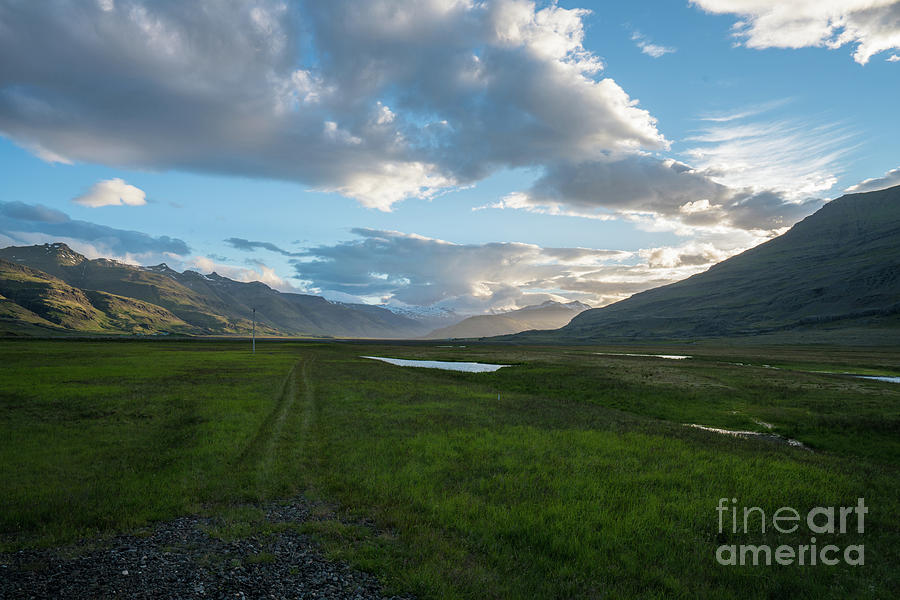 Iceland The Road Home Photograph