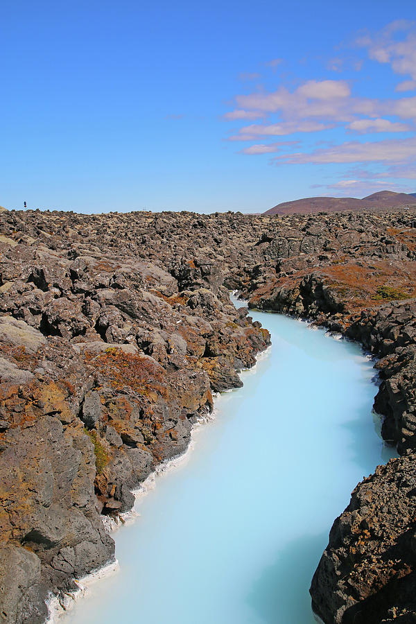 Iceland Photograph - Iceland Tranquil Blue Lagoon  by Betsy Knapp