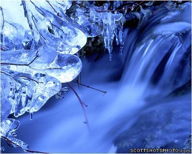 Icicles Photograph - Icicles 1 by Scott Thompson