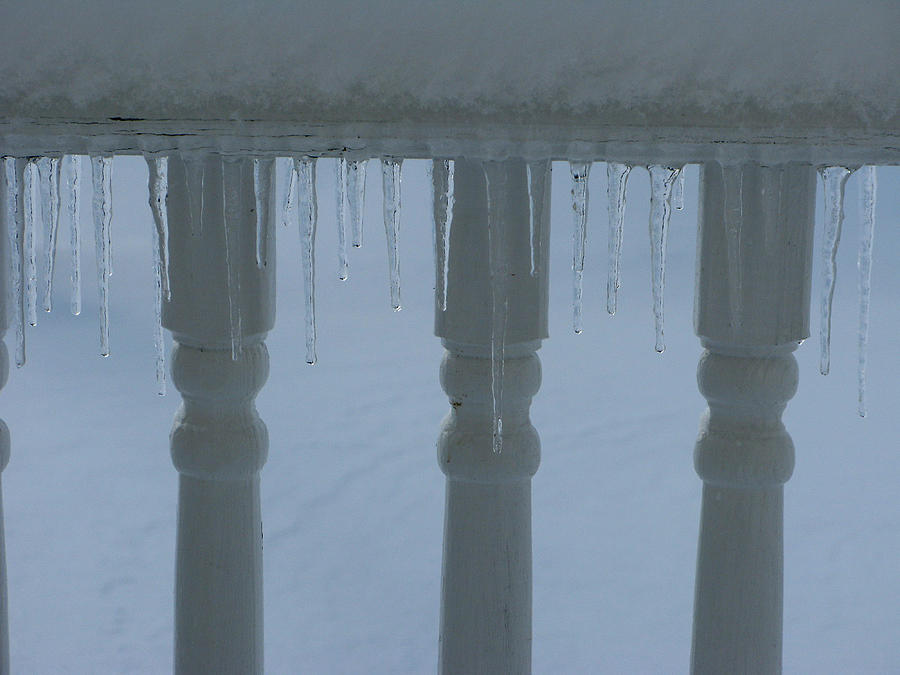 Icicles Photograph - Icicles by Martie DAndrea