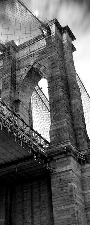 Brooklyn Bridge Photograph - Iconic Arches by Az Jackson