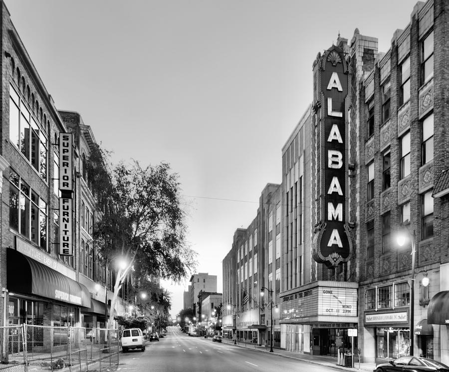 The Alabama Theater Photograph - Iconic Birmingham by JC Findley