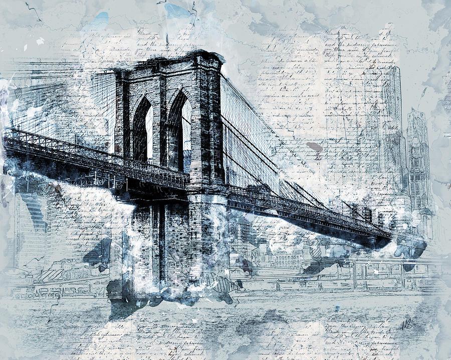 графические картинки каменных мостов могут