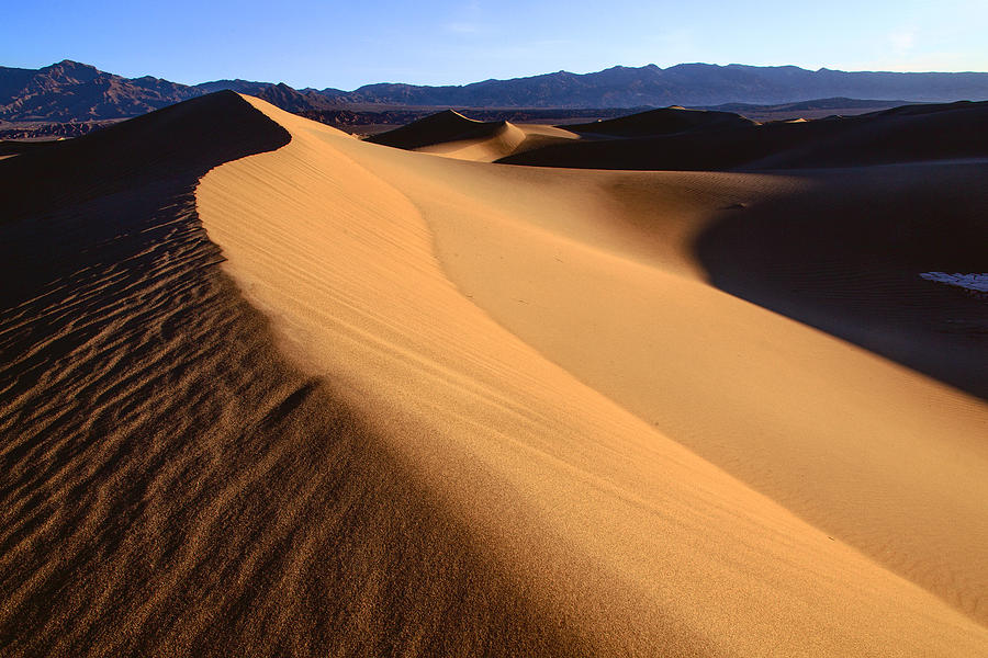 Dunes Photograph - Iconic Dunes At Death Valley by Matt Cohen