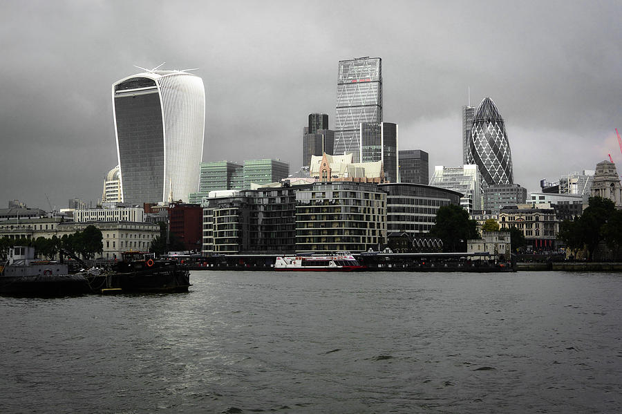 London Photograph - Iconic London Skyline by Two Small Potatoes