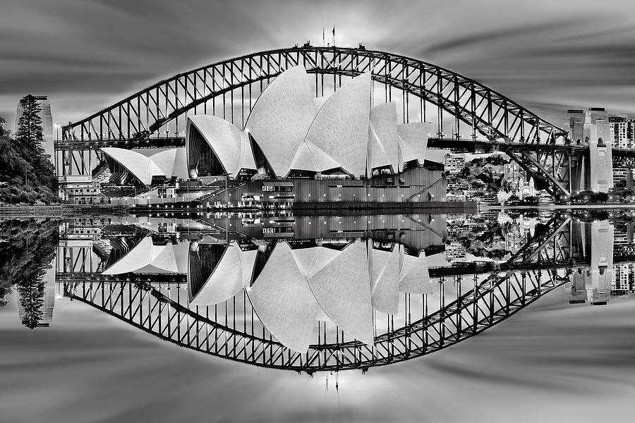 Iconic Reflections Digital Art