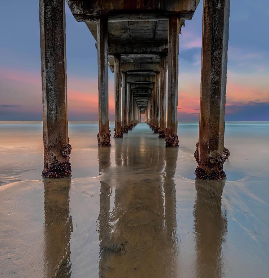 La Jolla Photograph - Iconic Scripps Pier by Larry Marshall