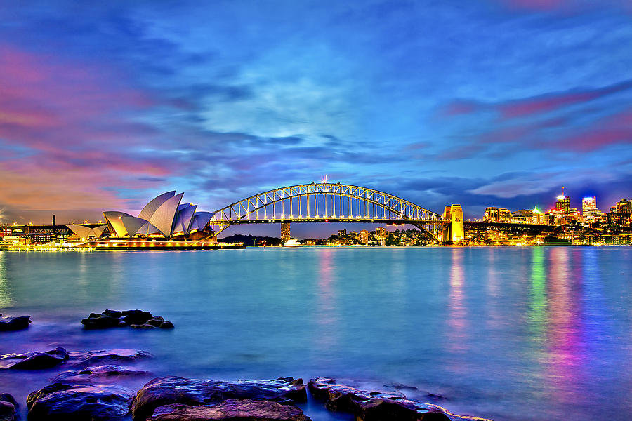 Icons Of Sydney Harbour Photograph