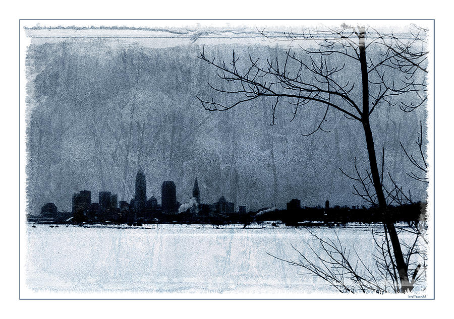 Icy Cleveland Photograph