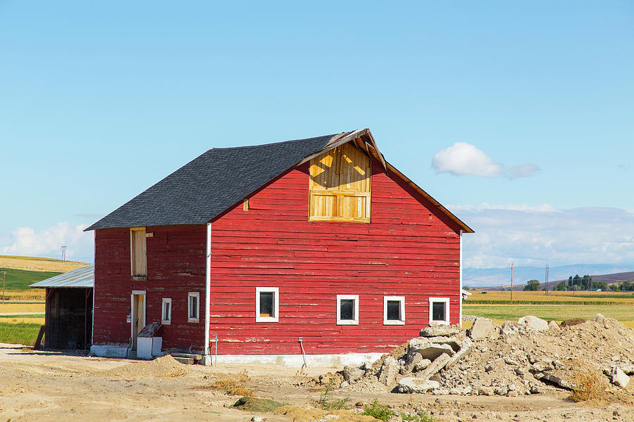 Idaho Barn Photograph by Dart and Suze Humeston