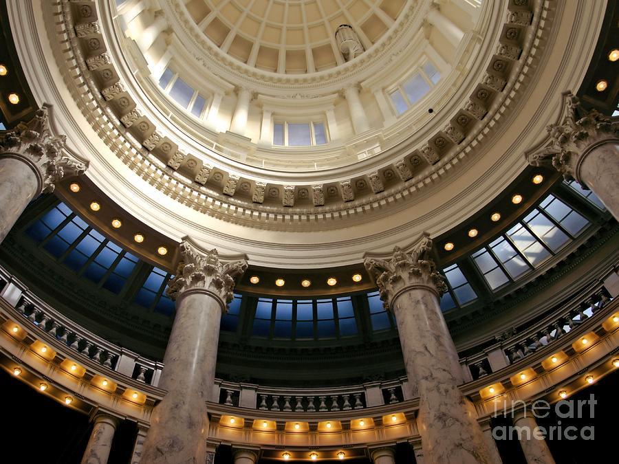 Idaho Photograph - Idaho Capitol Half Dome by Patricia Strand