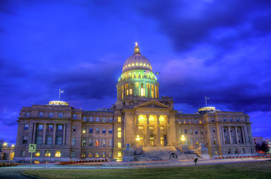 Idaho State Capital by Daryl Clark