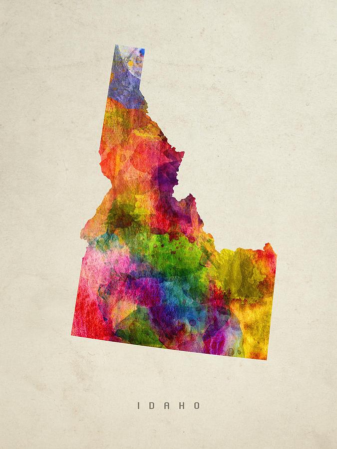 Idaho State Map 02