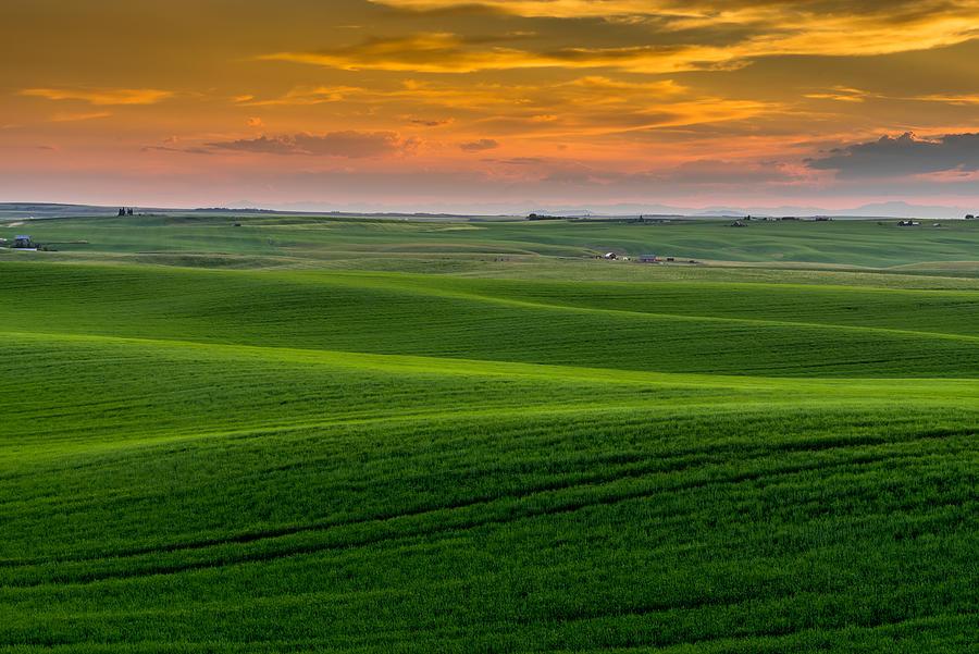 Idaho Photograph - Idahos Heartland by TL  Mair