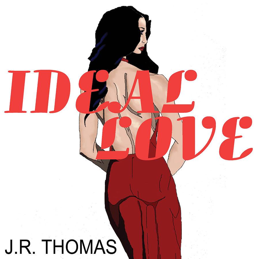 Books Digital Art - Ideal Love Cover by Jayvon Thomas