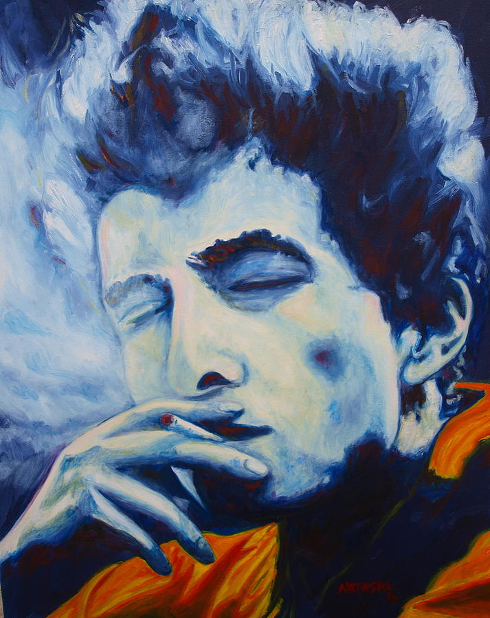 Bob Dylan Painting - Idiot Wind by Natasha Laurence