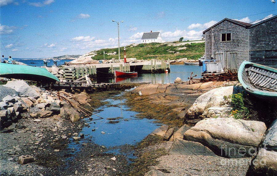 Peggy's Cove Photograph - Idle by Andrea Simon