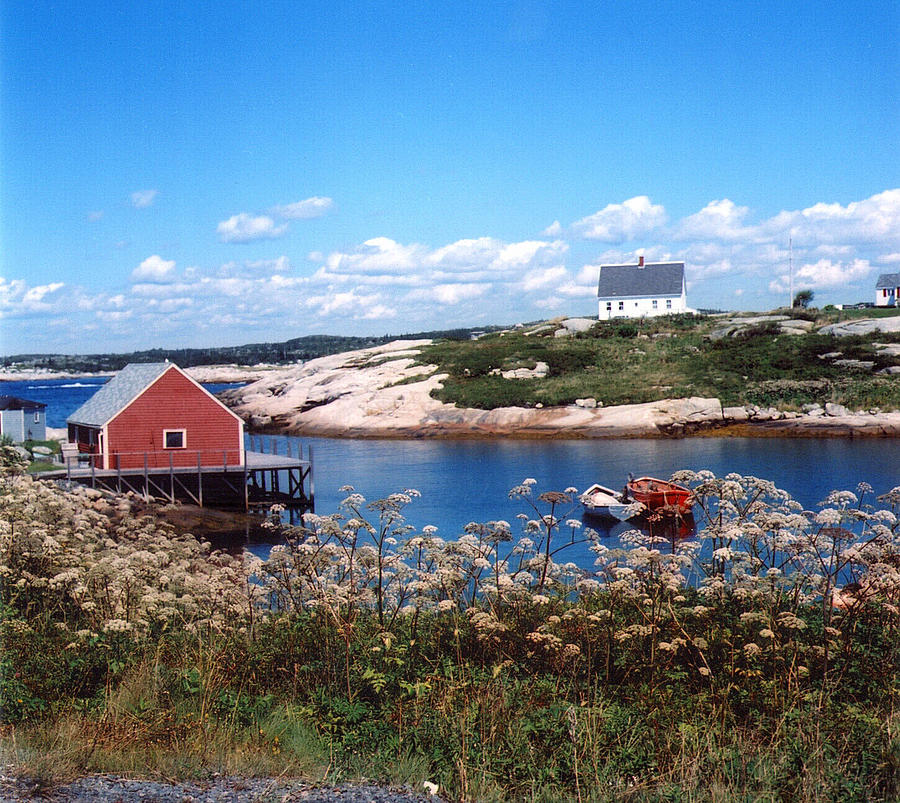 Peggy's Cove Photograph - Idyll by Andrea Simon