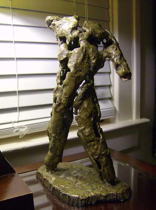 Sculpture - I.e.d. Torso Study by Don Thibodeaux