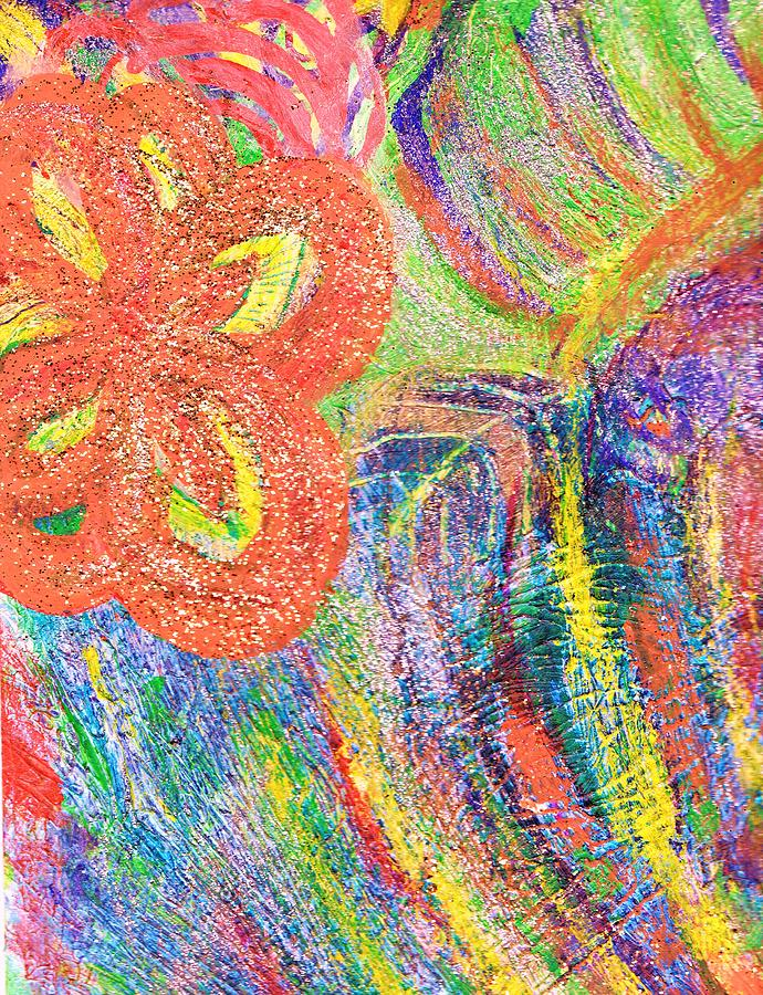 Bright Painting - If Colors Were Sounds  by Anne-Elizabeth Whiteway