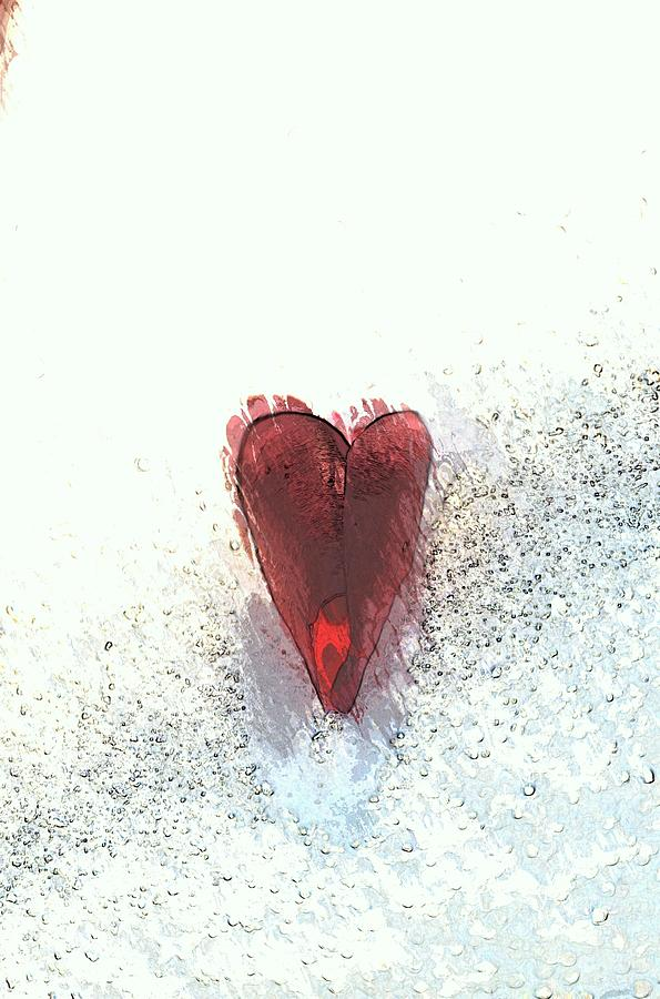 Heart Photograph - If I give you my heart by Paulina Roybal