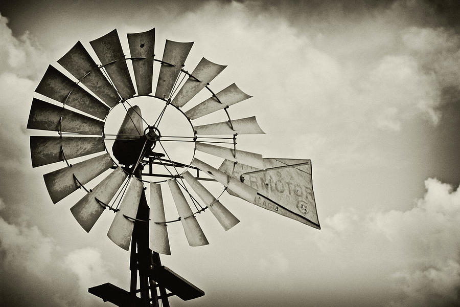 Windmill Photograph - If Windmills Could Talk by Tony Grider