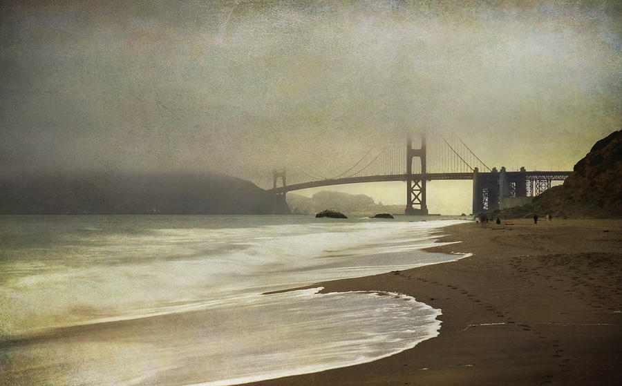 San Francisco Photograph - If You Could Just Stay by Laurie Search