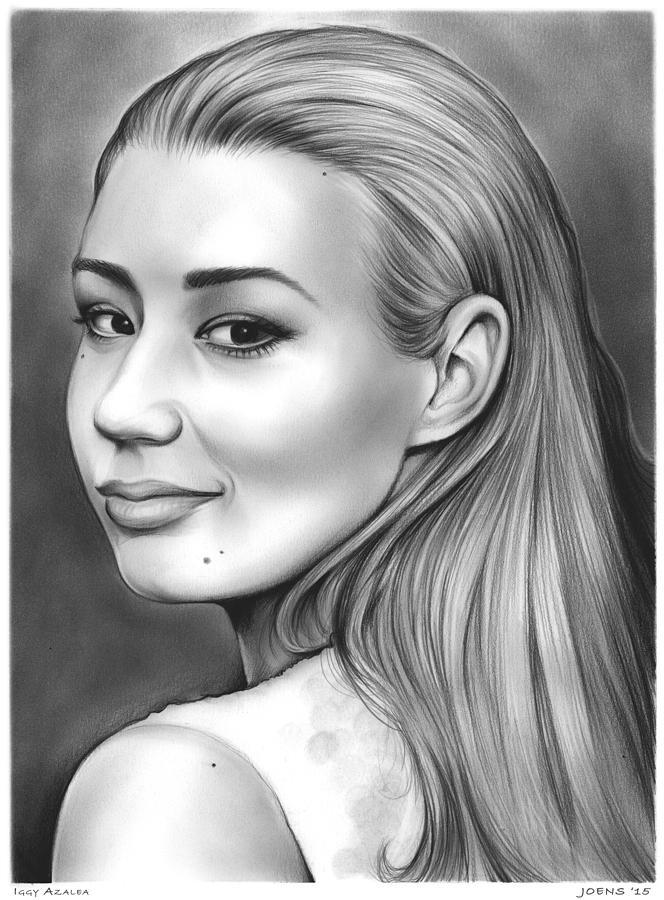 Iggy Azalea Drawing