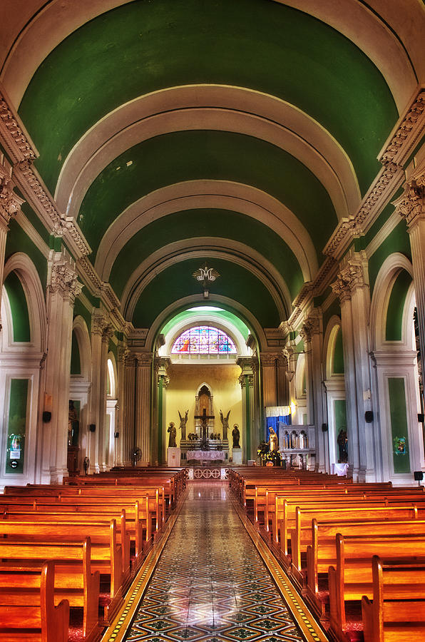 Church Photograph - Iglesia De La Merced by Graesen Arnoff