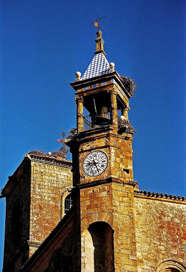 Europe Photograph - Iglesia De San Martin - Trujillo by Juergen Weiss