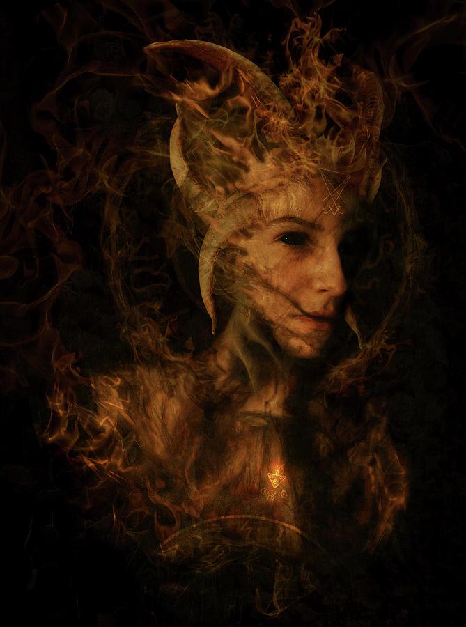 Lucifer Digital Art - Ignis Luciferi by Cambion Art