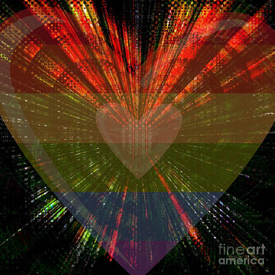 Ignite My Heart Digital Art