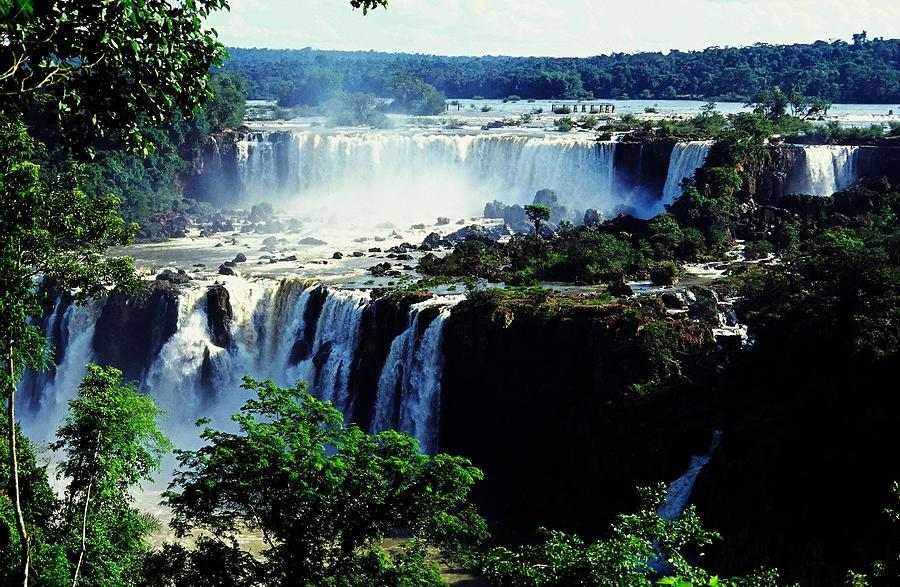South America Photograph - Iguacu Waterfalls by Juergen Weiss