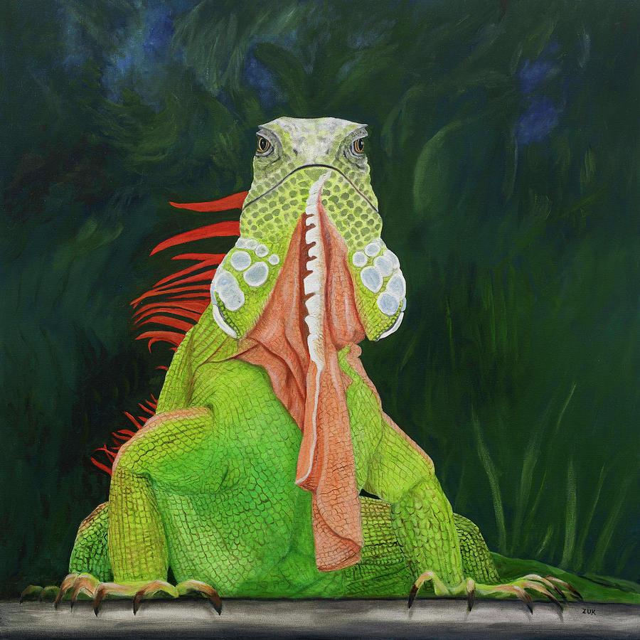 Iguana Dude by Karen Zuk Rosenblatt