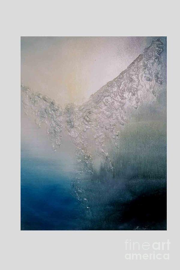 Paintings Painting - Ikarius by Jan Hmiro