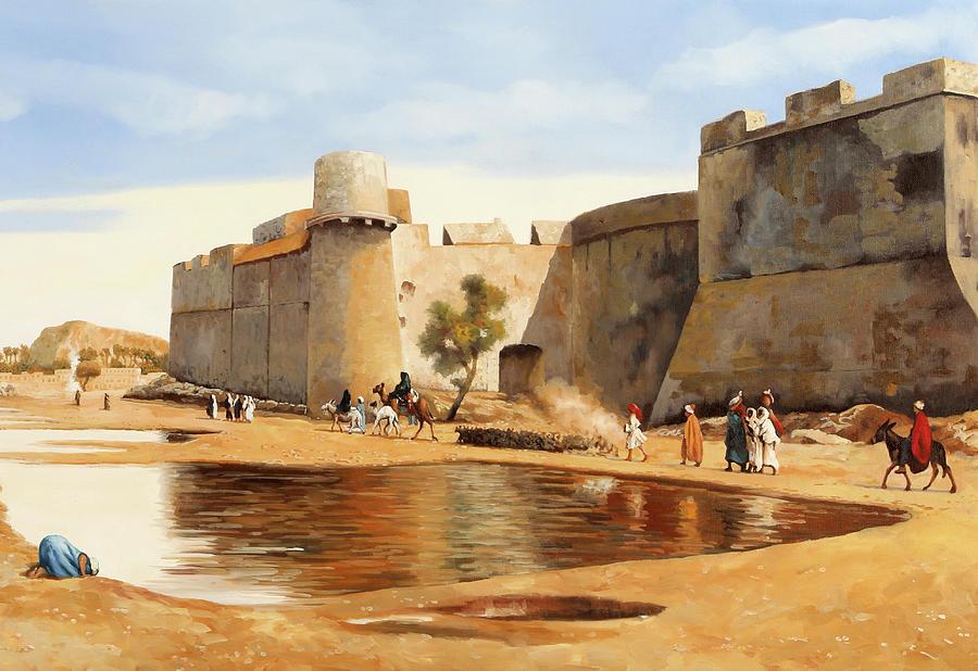 Il Castello Painting