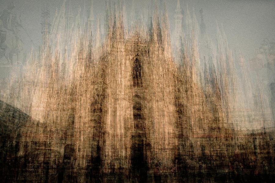 Cathedral Photograph - Il Duomo Di Milano by Denis Bouchard