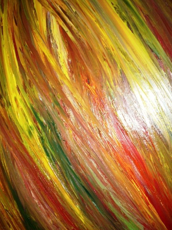 Colore Painting - Il Movimento Del Colore by Elio Scuderi