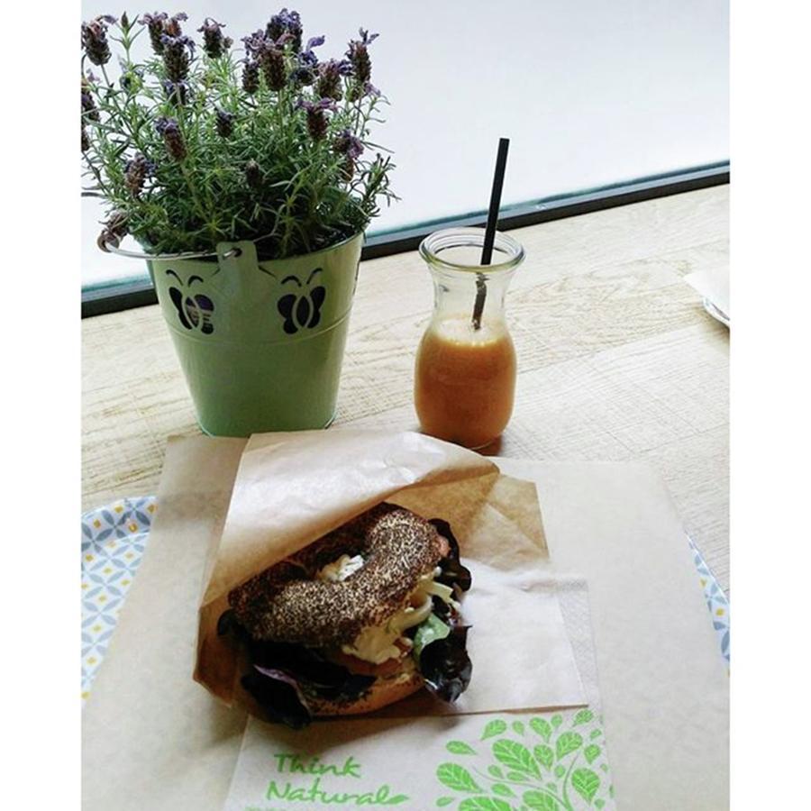 Foodie Photograph - Il Pranzo Di Ieri, Poppy Bagel Con by Federica Vollero